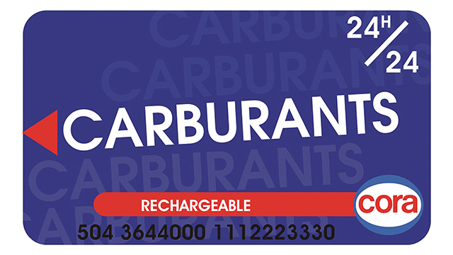 carte carburant cora